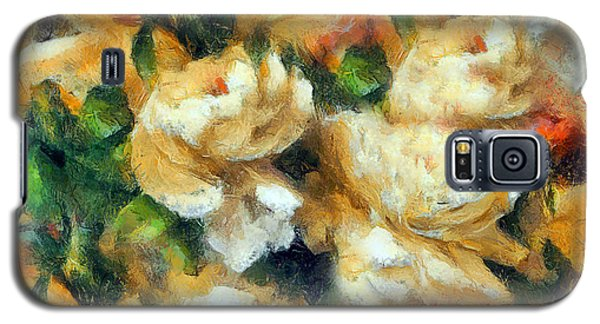 Rose Garden Abstract Expressionism Galaxy S5 Case