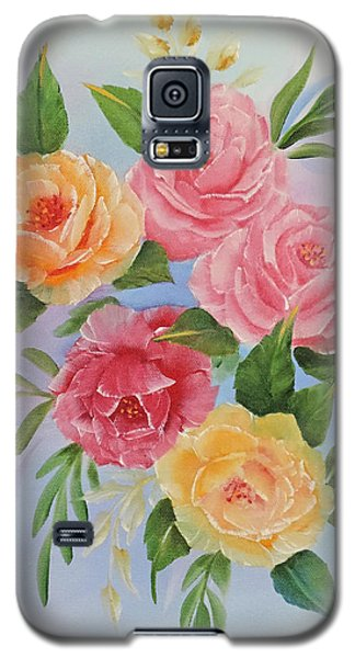 Rose Gathering Galaxy S5 Case