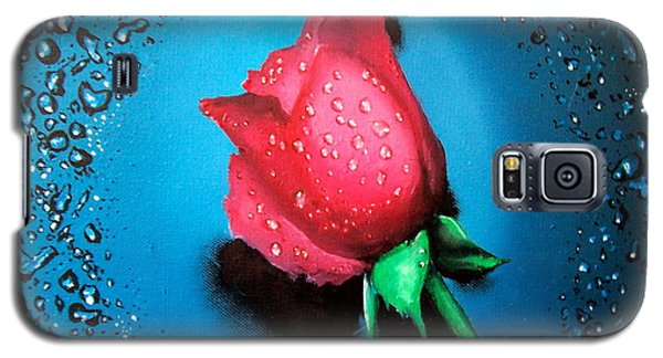 Rose Galaxy S5 Case by Geni Gorani
