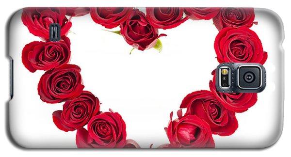 Rose Heart Galaxy S5 Case by Elena Elisseeva