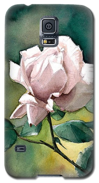 Watercolor Of A Lilac Rose  Galaxy S5 Case