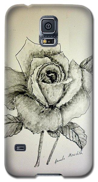 Rose In Monotone Galaxy S5 Case