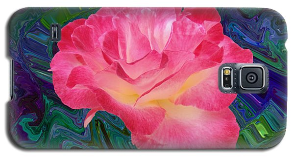 Rose In The Matter Of Your Hand V7 Galaxy S5 Case