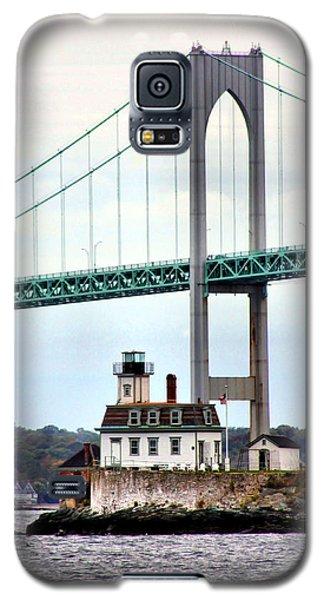 Rose Island Lighthouse Galaxy S5 Case by Kristin Elmquist