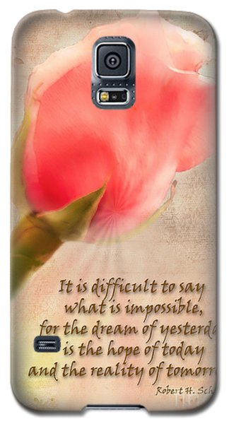 Rose Of Hope Galaxy S5 Case