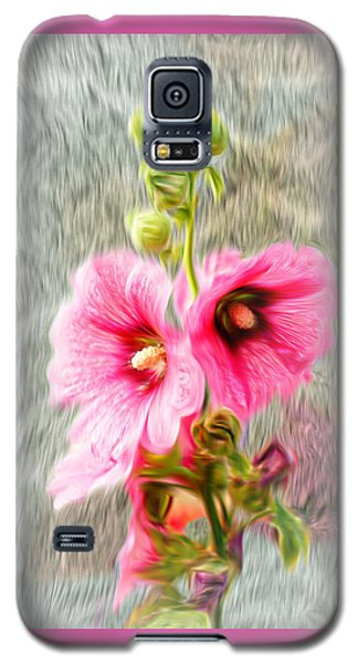 Rose Of The North Abstract. Galaxy S5 Case by Ian Gledhill