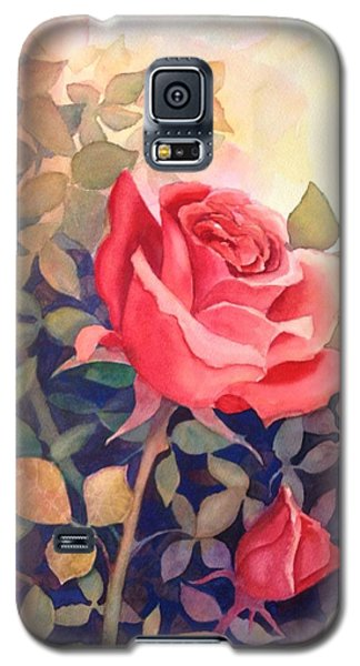 Rose On A Warm Day Galaxy S5 Case by Marilyn Jacobson