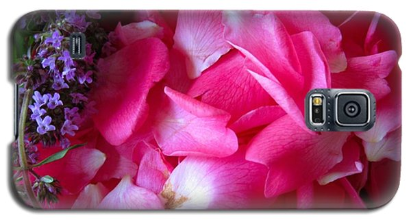 Rose Petals And Thyme Galaxy S5 Case by Margaret Newcomb