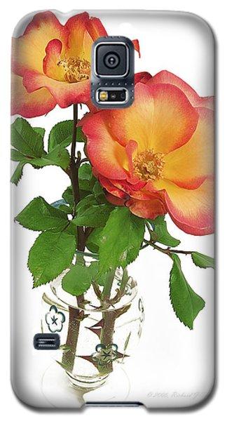 Rose 'playboy' Galaxy S5 Case