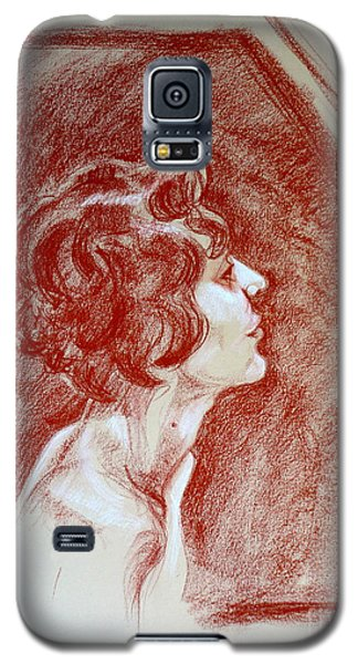 Rose Portrait Galaxy S5 Case