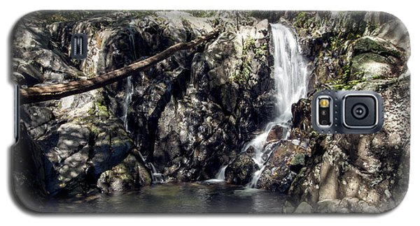Galaxy S5 Case featuring the photograph Rose River Falls 1 by David Lester