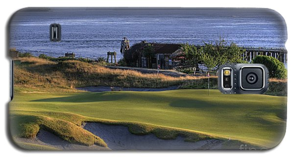 Hole 17 Hdr Galaxy S5 Case by Chris Anderson