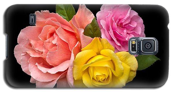 Rose Trilogy Galaxy S5 Case by Jane McIlroy
