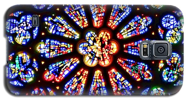 Rose Window Of Grace Cathedral By Diana Sainz Galaxy S5 Case
