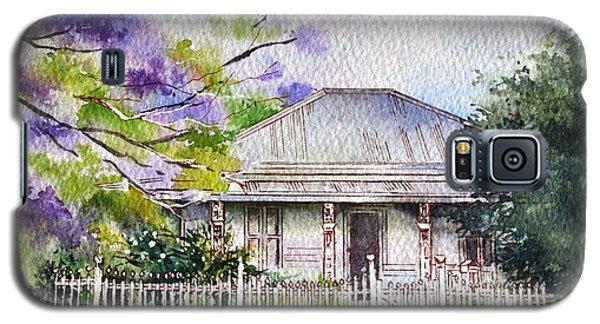 Galaxy S5 Case featuring the painting Roseabellas House Bellingen by Sandra Phryce-Jones