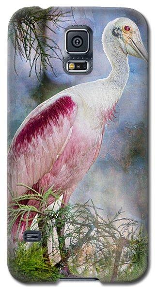 Roseate Spoonbill In Evangeline Parish Galaxy S5 Case