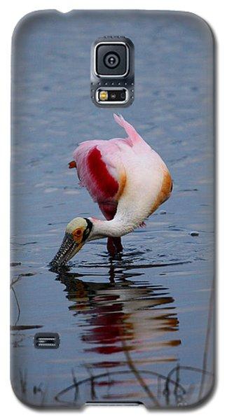Roseate Spoonbill Twist Galaxy S5 Case