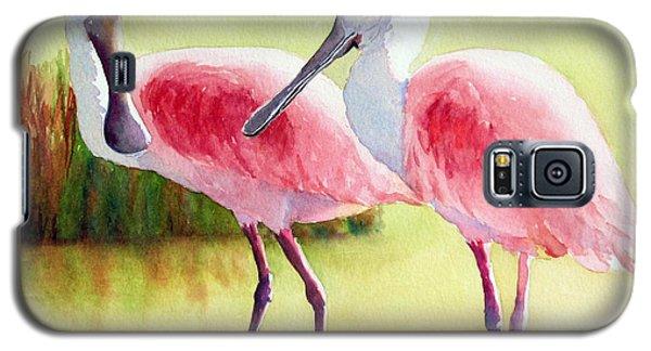 Roseate Spoonbills Galaxy S5 Case