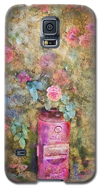 Roses And Fire Hydrant Galaxy S5 Case