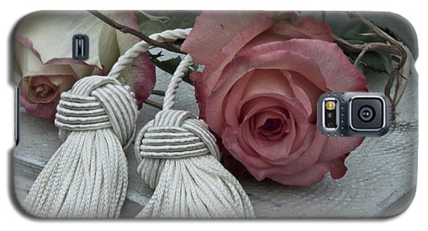 Galaxy S5 Case featuring the photograph Roses And Tassels by Sandra Foster