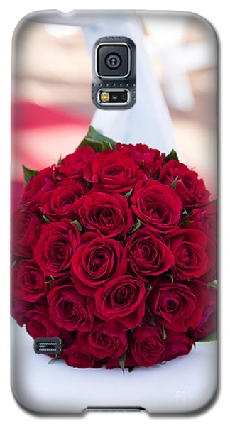 Galaxy S5 Case featuring the photograph Roses Are Red by Serene Maisey