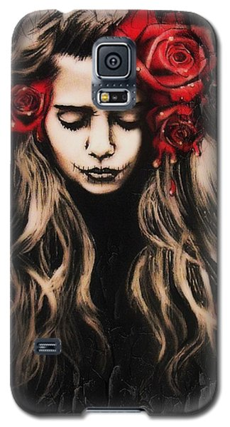 Roses Are Red Galaxy S5 Case by Sheena Pike