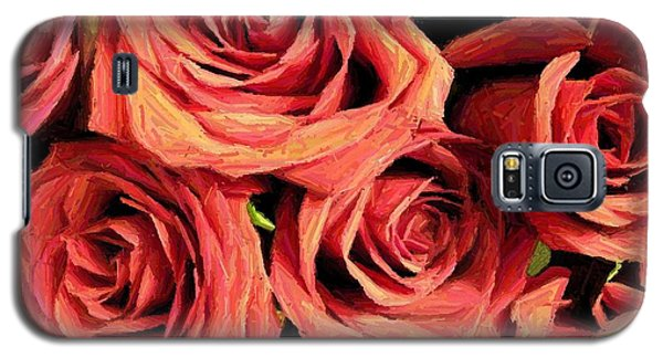 Roses For Your Wall  Galaxy S5 Case by Joseph Baril