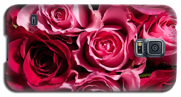 Galaxy S5 Case featuring the photograph Roses by Matt Malloy