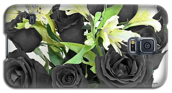 Galaxy S5 Case featuring the photograph Roses Of A Different Color by Ella Kaye Dickey