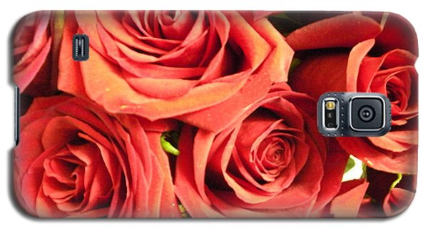 Galaxy S5 Case featuring the photograph Roses On Your Wall by Joseph Baril
