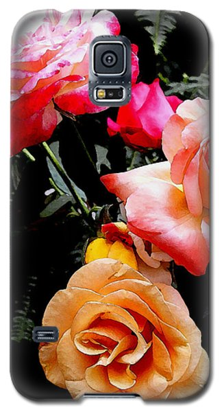 Galaxy S5 Case featuring the photograph Roses Roses Roses by James C Thomas