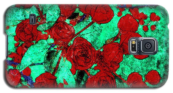The Red Roses Galaxy S5 Case