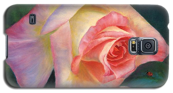 Rosey And Friend Galaxy S5 Case by Jeanette French