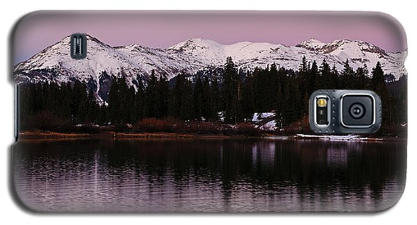 Rosey Lake Reflections Galaxy S5 Case