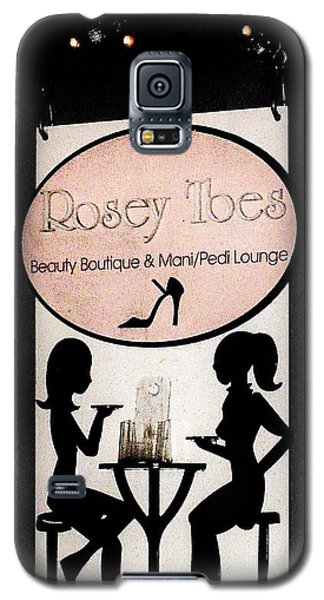 Rosey Toes Galaxy S5 Case by John King