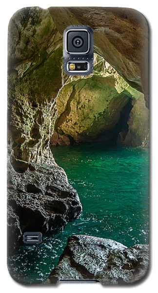 Galaxy S5 Case featuring the photograph Rosh Hanikra Grottoes by Sergey Simanovsky
