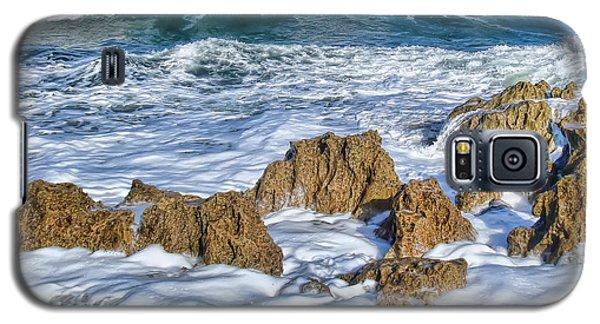Galaxy S5 Case featuring the photograph Ross Witham Beach Stuart Florida by Olga Hamilton
