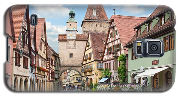 Rothenburg Ob Der Tauber Galaxy S5 Case