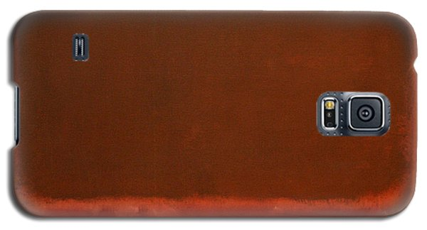 Rothko's Mulberry And Brown Galaxy S5 Case