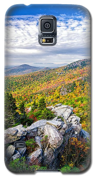 Rough Ridge Fall Galaxy S5 Case