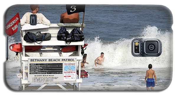 Rough Water At Bethany Beach In Delaware  Galaxy S5 Case