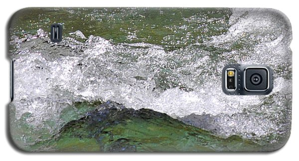 Galaxy S5 Case featuring the photograph Rough Waters by Jessica Tookey