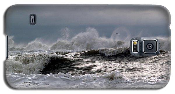 Rough Waves Galaxy S5 Case by Deborah Hughes