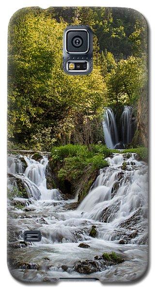 Roughlock Falls South Dakota Galaxy S5 Case by Patti Deters