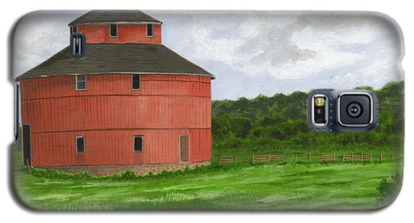 Round Barn Galaxy S5 Case