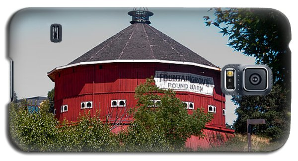 Round Barn Named Galaxy S5 Case