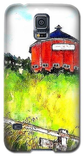 Round Barn Santa Rosa Galaxy S5 Case