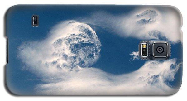 Round Clouds Galaxy S5 Case