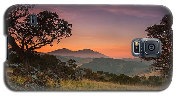 Round Valley After Sunset Galaxy S5 Case