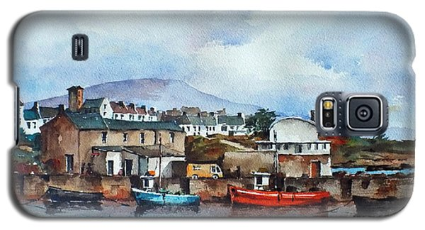Roundstone Old Harbour Galway Galaxy S5 Case